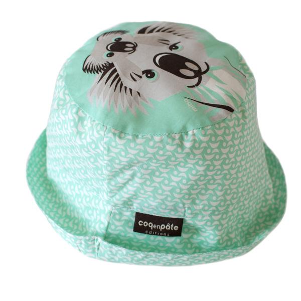Coq En Pâte - Bob enfant coton bio Koala vert clair Taille S