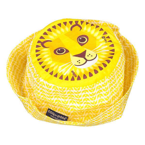 Coq En Pâte - Bob enfant coton bio Lion jaune Taille S