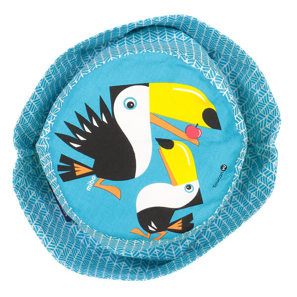 Coq En Pâte - Bob enfant coton bio Toucan bleu Taille M