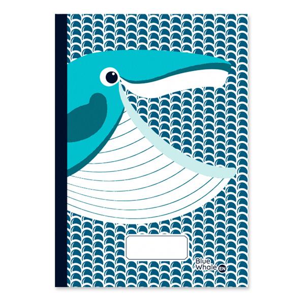 Coq En Pâte - Cahier d'écriture et dessin A5 Baleine 48p