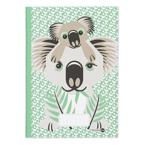 Coq En Pâte - Cahier d'écriture et dessin A5 Koala 48p