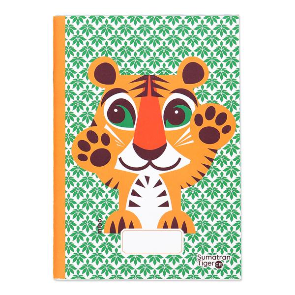 Coq En Pâte - Cahier d'écriture et dessin A5 Tigre 48p