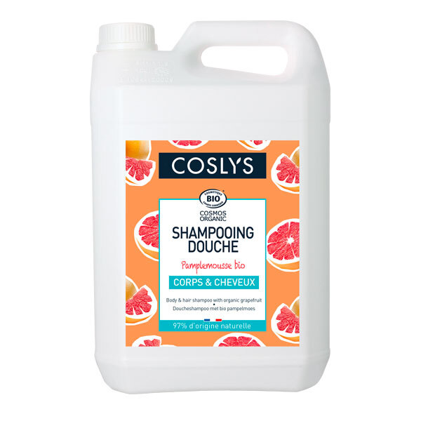 Coslys - Shampoing douche pamplemousse 5L