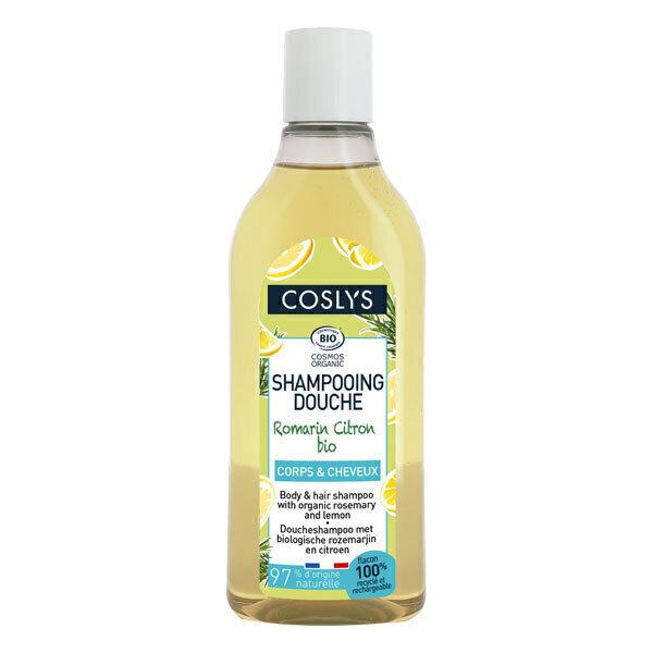 Coslys - Shampoing douche romarin et citron 250ml