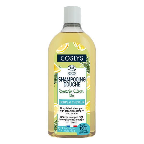 Coslys - Shampoing douche romarin et citron 750ml