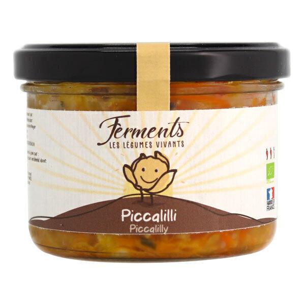Ferments - Picalilli lacto-fermenté 170g