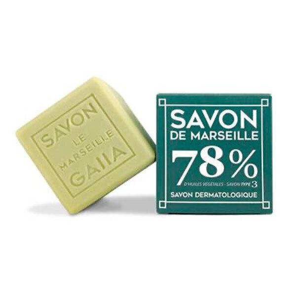 Gaiia - Cube de Savon de Marseille Olive Coco et Chanvre 250g