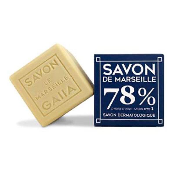 Gaiia - Cube de Savon de Marseille Pur Olive 250g