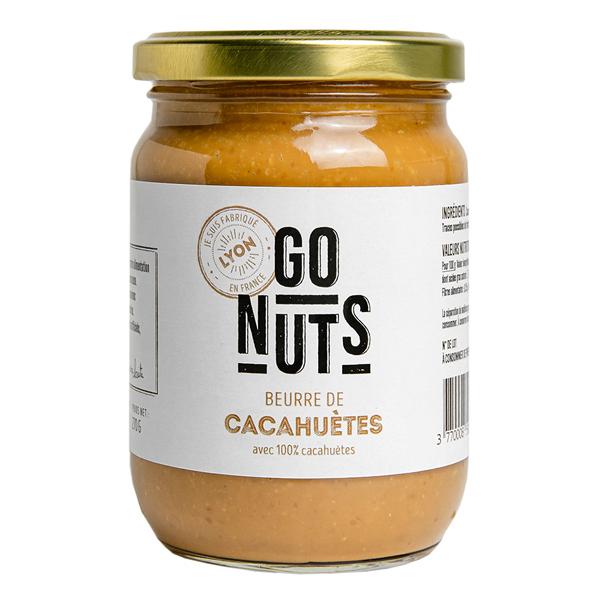 Go Nuts - Beurre de cacahuètes 270g