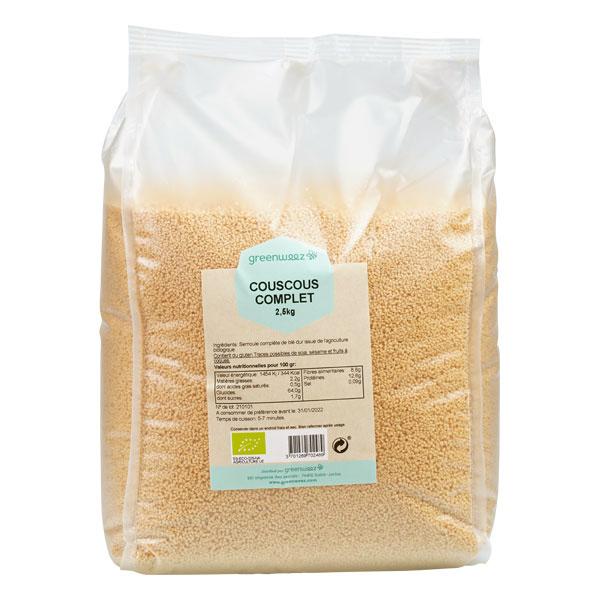 Greenweez - Couscous complet bio 2,5kg