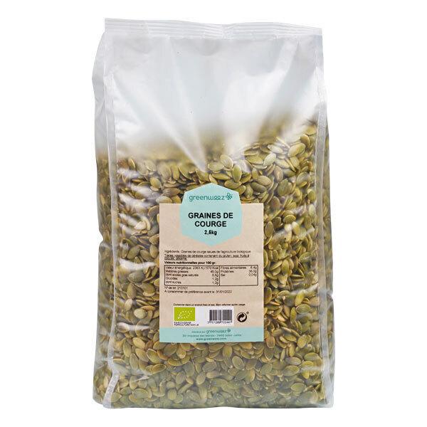 Greenweez - Graines de courge bio 2,5kg