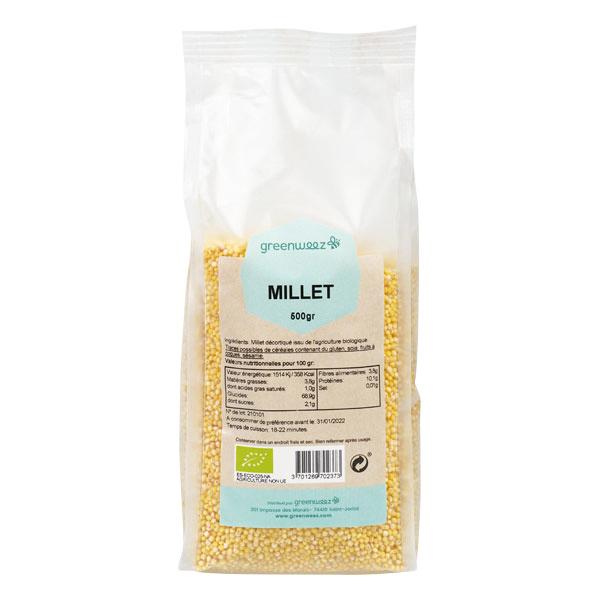 Greenweez - Millet bio 500g