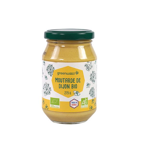 Greenweez - Moutarde de Dijon bio 275g