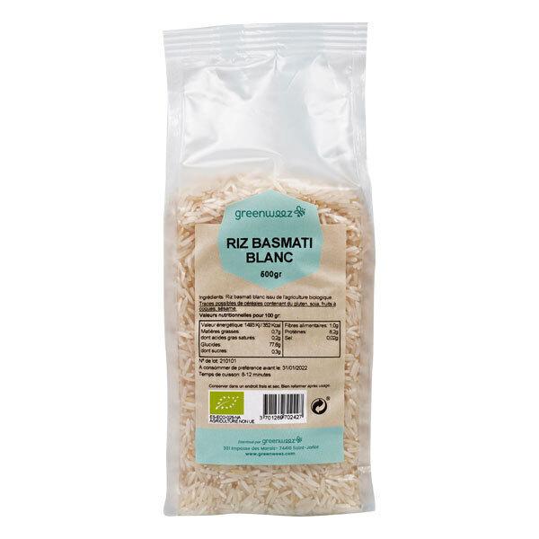 Greenweez - Riz basmati blanc bio 500g