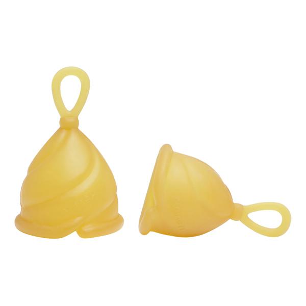 Hévéa - Set de 2 x Loop Cup 100% caoutchouc naturel - Tailles 1 & 2