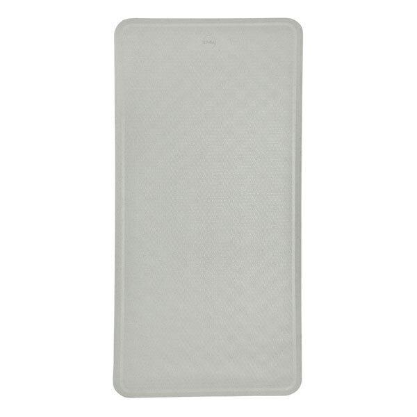 Hévéa - Tapis de bain caoutchouc naturel 75x34 cm - Granit