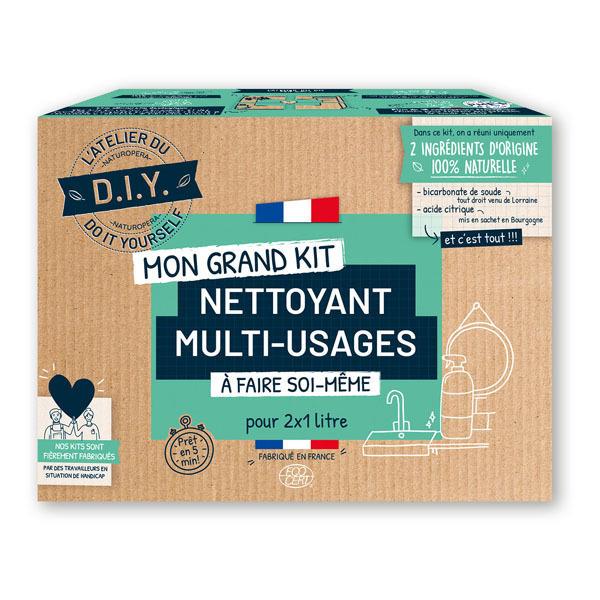 L'Atelier Du Do It Yourself - Kit DIY pour Nettoyant Multi-Usages 2x1L