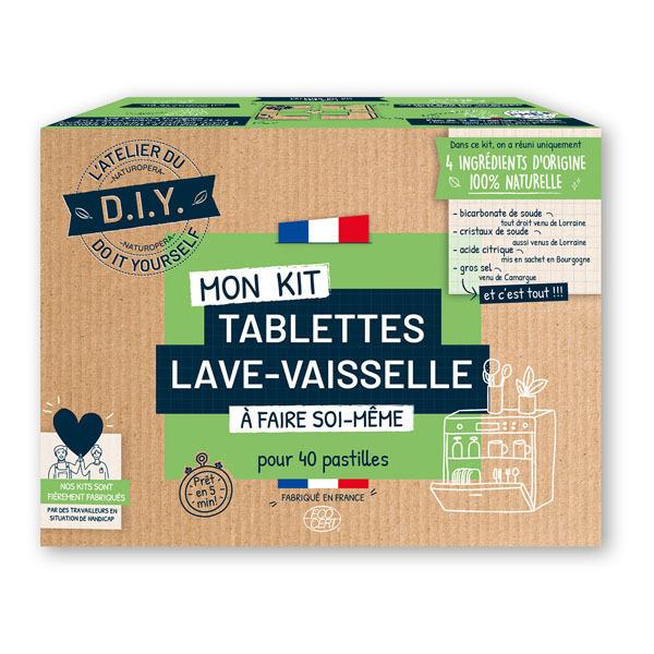 L'Atelier Du Do It Yourself - Kit DIY pour Tablettes Lave-Vaisselle x40