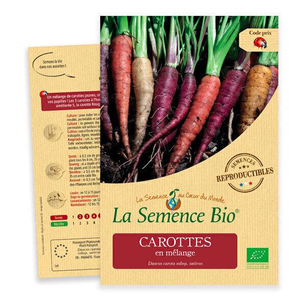 La Semence Bio - Graines de Carotte en mélange