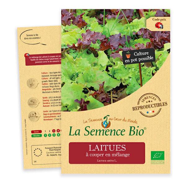 La Semence Bio - Graines de Laitue à couper en mélange