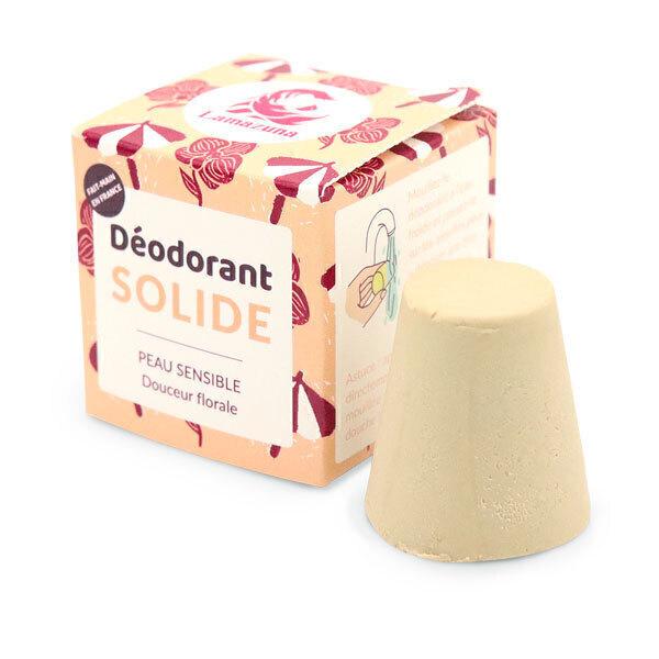 Lamazuna - Déodorant solide Douceur florale peaux sensibles 30g