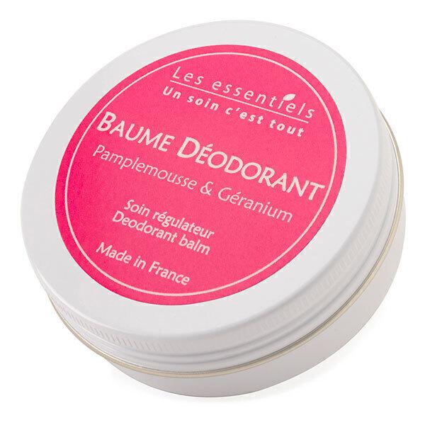 Les Essentiels - Baume Déodorant pamplemousse et géranium rosa 60ml