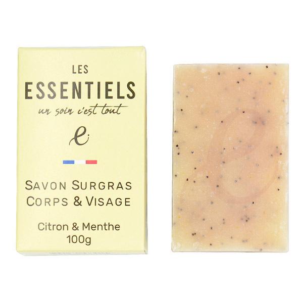 Les Essentiels - Savon citron et menthe 100g