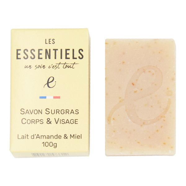Les Essentiels - Savon lait d'amande et miel 100g