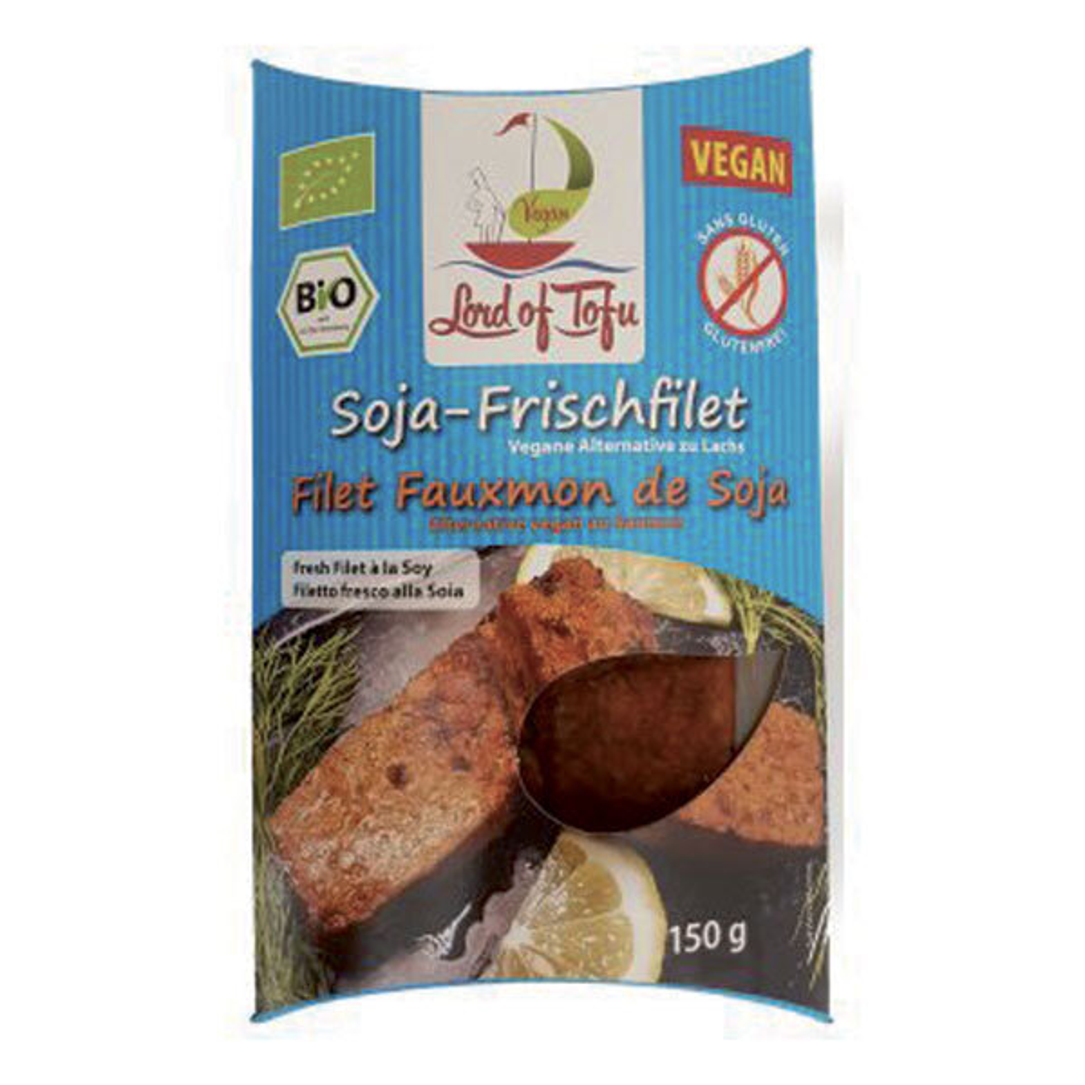 Lord of Tofu - Filet de fauxmon, alternative au saumon 150g