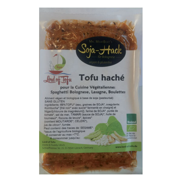 Lord of Tofu - Tofu haché pour bolognaise vegan 150g
