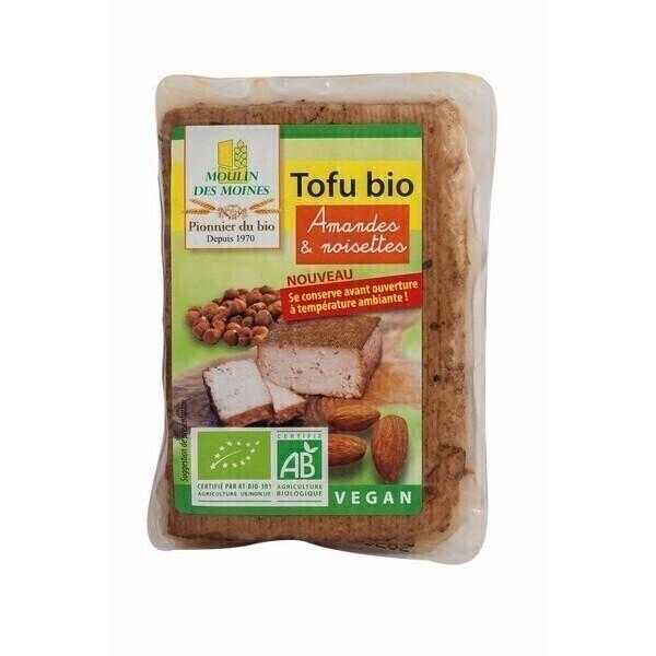 Moulin des Moines - Tofu aux amandes et noisettes 200g