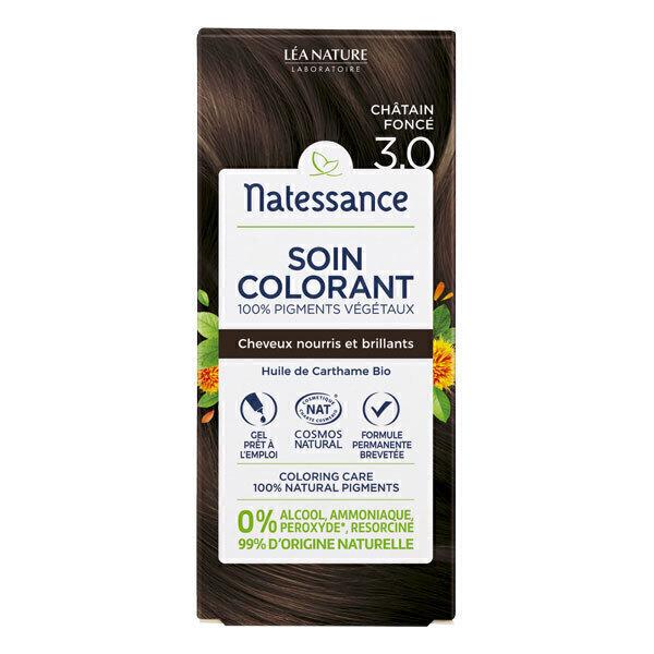 Natessance - Coloration végétale Châtain Foncé 150ml