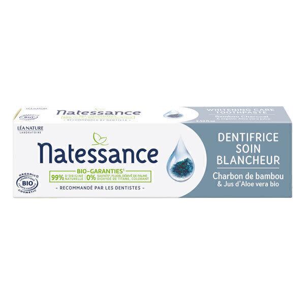 Natessance - Dentifrice soin blancheur 75ml
