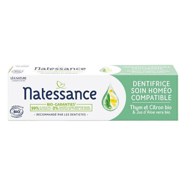 Natessance - Dentifrice soin homéo-compatible 75ml