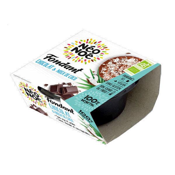 Néo Noé - Fondant végétal chocolat - noix de coco 70g