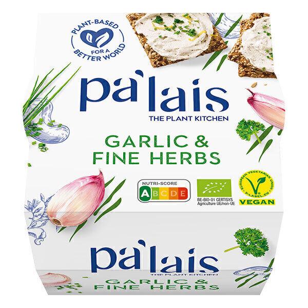 Pa'lais - Tartinable Cajou Ail Herbes 125g