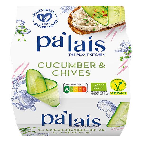 Pa'lais - Tartinable Cajou Concombre et ciboulette 125g