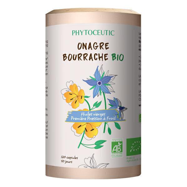 Phytoceutic - Duo huiles onagre et bourrache 120 capsules