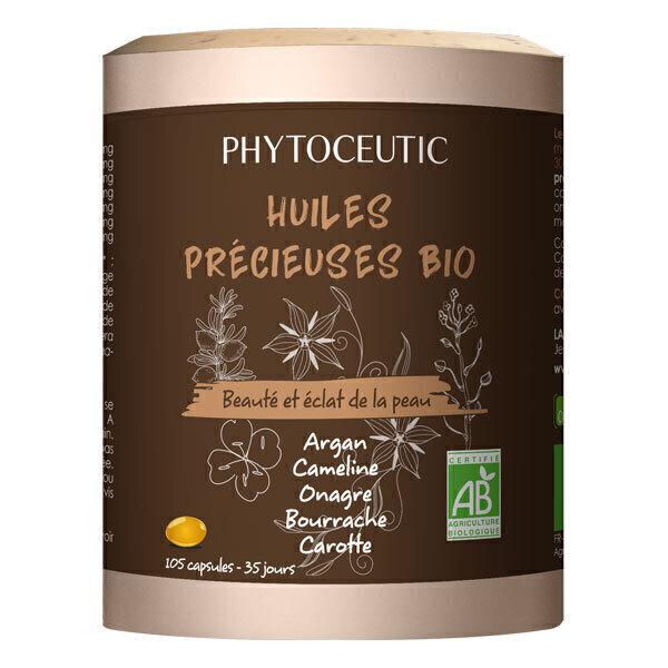 Phytoceutic - Huiles précieuses Beauté de la peau 105 capsules