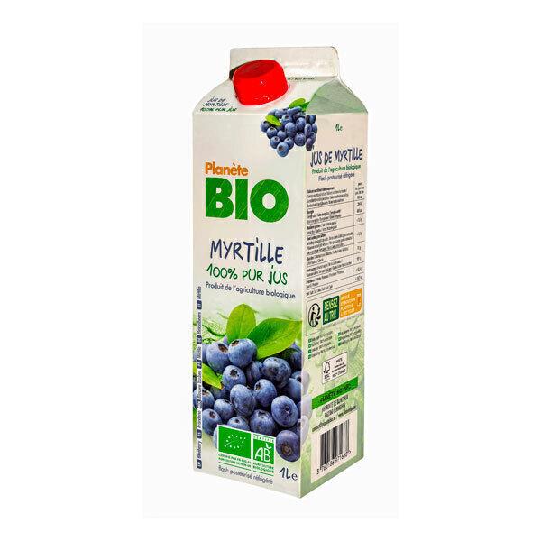 Planète Bio - Jus de myrtille Bio 1L
