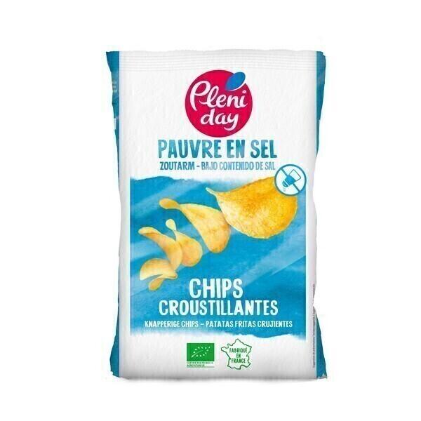 Pléniday - Chips sans sel 100g