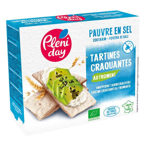Pléniday - Tartines craquantes de froment pauvres en sel 150g