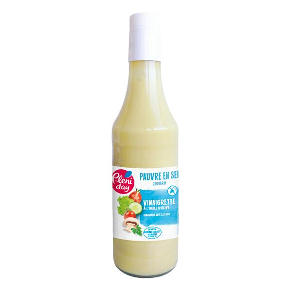 Pléniday - Vinaigrette à l'huile d'olive pauvre en sel 200g
