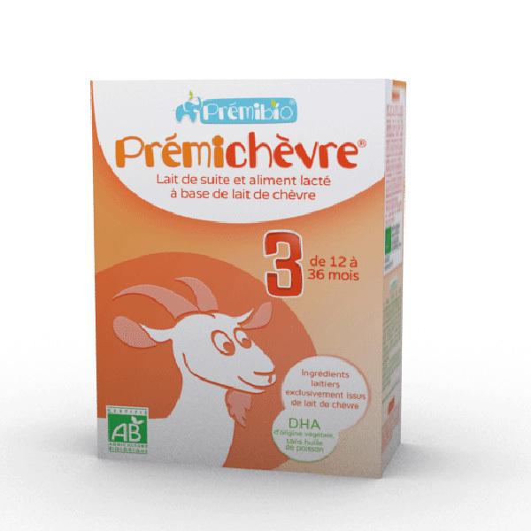 Prémibio - Prémichèvre croissance 12 à 36 mois - 600g
