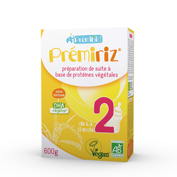 Prémibio - Premiriz 6 à 12 mois - 600g