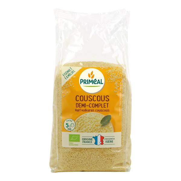 Priméal - Couscous demi-complet origine France 1kg