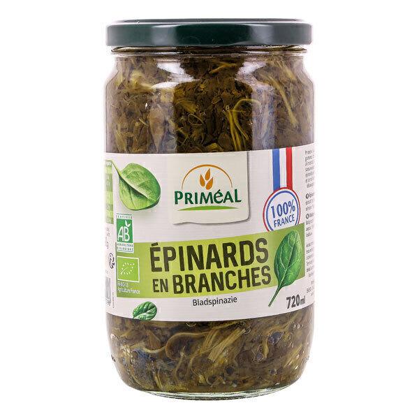 Priméal - Epinards en branches origine France 720ml
