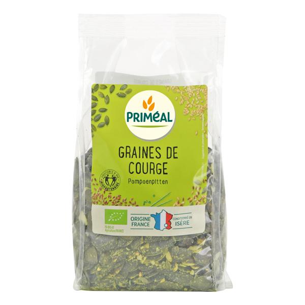 Priméal - Graines de courge origine France 250g
