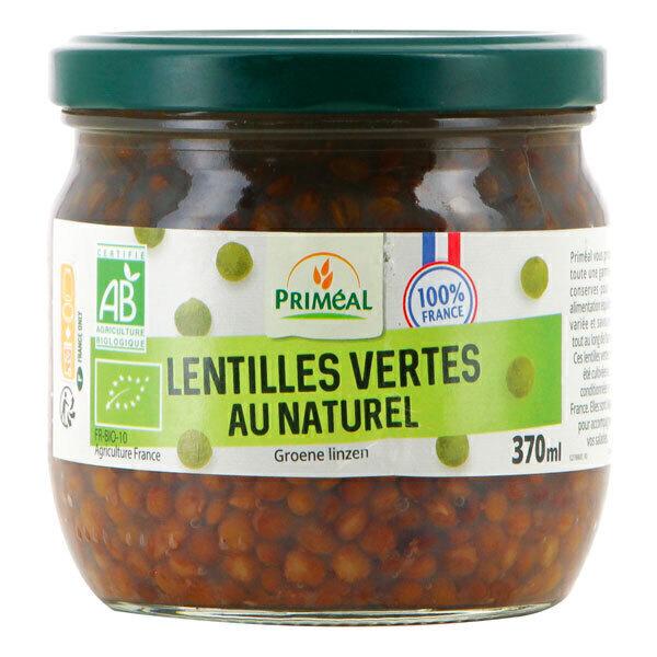 Priméal - Lentilles vertes origine France 370ml