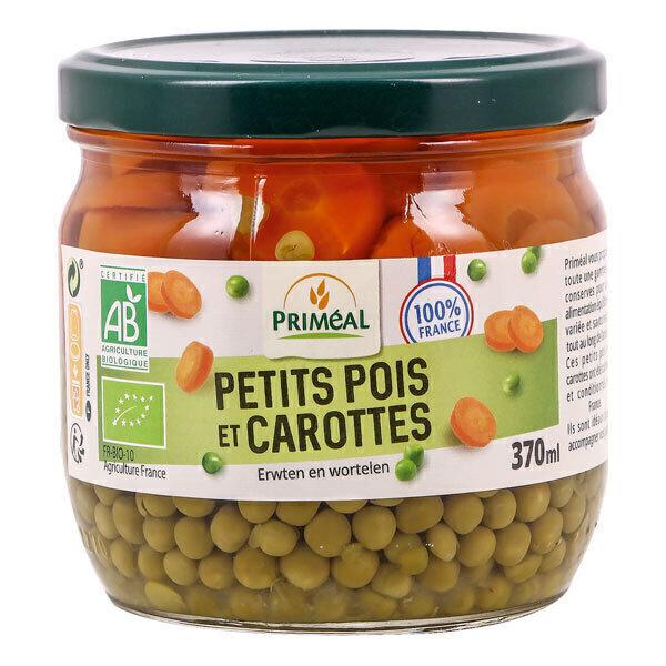 Priméal - Petits pois carottes origine France 370ml